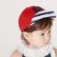 หมวกแก๊ป หมวกเด็กแบบมีปีกด้านหน้า ลายตัวอักษร H (มี 2 สี) thumbnail 7