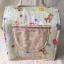 กระเป๋าคอตตอลติดลูกไม้ เขียว thumbnail 3