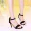 รองเท้าส้นสูงไซส์ใหญ่ ไซส์ 40 Suede Single-hued Strappy รุ่น KR0489 thumbnail 5