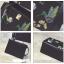 กระเป๋าปัก ลายนก ใบใหญ่ หนังสวยมาก thumbnail 5