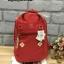 กระเป๋า Anello rucksack nylon day pack back 2017 Red ราคา 1,290 บาท Free Ems thumbnail 2