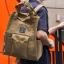 กระเป๋า Anello polyester canvas Tote style rucksack เบอร์ 1 thumbnail 6