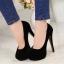 รองเท้าส้นสูงไซส์ใหญ่ Midnight Ella Platform ไซส์ 40-46 รุ่น KR0592 thumbnail 5