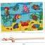 ของเล่นไม้ ชุดตกปลา จิ๊กซอ Magnetic fishing puzzle board thumbnail 9