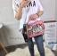 กระเป๋าสะพาย สีชมพู JTXS bag made in Hong Kong 2017...งานแท้นะคะ thumbnail 1