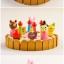 ของเล่นไม้ เซตตกแต่งหน้าเค้ก Wooden Decoration Cake Set by Mother Garden thumbnail 5
