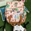 กระเป๋าเป้ Sun earth & U POLYESTER NYLON WATERPROOF RUCKSACK เป้รุ่นใหม่ลวดลายสไตล์วินเทจ thumbnail 16
