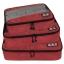 ชุดจัดกระเป๋าเดินทางคุณภาพดีมาก 3 ใบต่อชุด ใส่เสื้อ, กางเกง, กระโปรง, ผ้าขนหนู (Ecosusi 3 Set Packing Cubes - Travel Organizers) thumbnail 5