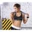 สปอร์ตบรา ชุดกีฬาผู้หญิง รุ่นซิปหน้า รองรับแรงกระแทกระดับ 4 ใส่สบาย - สีดำ thumbnail 1