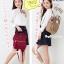 กระเป๋า Anello Nylon Mini Square สี Khakhi ราคา 1,390 บาท Free Ems thumbnail 15