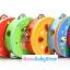 แทมบูรินไม้เคาะจังหวะสำหรับเด็ก การ์ตูนคละลาย - Tambourine musical educational toy thumbnail 11