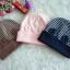 HT308••หมวกเด็ก•• / [สีชมพู] หมวกบีนนี่ทรงหูตั้ง thumbnail 5