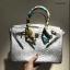 กระเป๋าทรงยอดฮิต สไตล์Birkin Crocodile Striped bag with accessories Available thumbnail 4