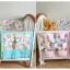 ผ้าแขวนผนัง-ติดขอบเปลเด็ก ใส่ของเล่น-ของใช้เด็ก Muslin Tree thumbnail 5