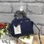 LYN Madison Bag สีน้ำเงิน กระเป๋าถือหรือสะพายทรงสวย รุ่นใหม่ล่าสุด วัสดุหนัง Saffiano thumbnail 2