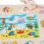 ของเล่นไม้ ชุดตกปลา จิ๊กซอ Magnetic fishing puzzle board thumbnail 6