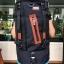 กระเป๋าเป้ WitzMan Nylon Travel Backpack Waterproof สีดำ thumbnail 1