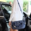กระเป๋า KEEP Longchamp Duo Sister With Strap สีน้ำเงิน thumbnail 6