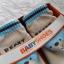 รองเท้าถุงเท้าพื้นยางหัดเดิน สีฟ้า ลายหมี Beary cute size 20-25 thumbnail 9