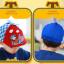 HT519••หมวกเด็ก•• / หมวกเบเร่ต์-ลิงขับเครื่องบิน [สีแดง] thumbnail 2