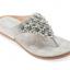 รองเท้าแตะหูหนีบไซส์เล็ก Desy Flower สีเทา KR0256 thumbnail 2