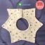 ผ้าซับน้ำลายเด็ก ผ้ากันเปื้อนเด็กเล็ก แบบ 360 องศา ปลายแฉก / ลายดาว 8 แฉก (มี 2 สี) thumbnail 3