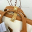 กระเป๋าเป้ Anello Polyester Canvas Rucksack Classic สีขาว- วัสดุผ้าแคนวาสอย่างดี รุ่นคลาสสิกพิเศษมีซิปด้านหลัง thumbnail 2
