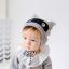 หมวกไหมพรม หมวกบีนนี่สำหรับเด็ก ลายแร็คคูน (มี 2 สี) thumbnail 6