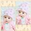 หมวกบีนนี่ หมวกเด็กสวมแบบแนบศีรษะ ลายเพชร (มี 4 สี) thumbnail 14