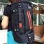 กระเป๋าเป้ WitzMan Nylon Travel Backpack Waterproof สีดำ thumbnail 3