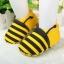รองเท้าเด็กอ่อน ลายผึ้งสีเหลือง วัย 0-12 เดือน thumbnail 1