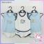 ชุดเสื้อกล้ามเด็ก cotton 100% เกรด A แพ็ค 3 ชุดสุดคุ้ม thumbnail 1