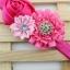 ผ้าคาดผมเด็กเจ้าหญิงน้อยยุโรป กลุ่มดอกไม้ผ้าเกสรเพชร น่ารักระดับพรีเมี่ยม thumbnail 7