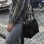 กระเป๋า Amory Leather Mini Candy Leather Bag หนังชามัวร์ สีเทา thumbnail 6