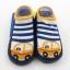 ถุงเท้ารองเท้า มีกันลื่น เด็กเล็กวัย 0-2 ปี เนื้อผ้านุ่มนิ่ม ลายรถยนต์ thumbnail 2