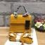 กระเป๋า Infinity Mini Croc City Bag สีเหลืองมัสตารค์ ราคา 890 บาท Free Ems thumbnail 2