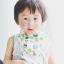 ผ้าซับน้ำลายสามเหลี่ยม ผ้ากันเปื้อนเด็ก [ผืนเล็ก] / Sushi thumbnail 2