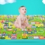 แผ่นรองคลานเด็กเล็ก แบบม้วน ขนาดใหญ่ 180 * 150 * 1 ซม.ใช้ได้ 2 ด้าน thumbnail 2