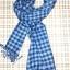 ผ้าพันคอย้อมครามทอมือ Premium Gift *สินค้า Handmade 100% ราคา 490 บาท(Ems +70) Bagshopweb.com thumbnail 8