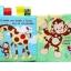 หนังสือนิทานผ้าภาษาอังกฤษ ชุดสัตว์น้อยแสนรัก JJOVCE thumbnail 9