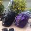 กระเป๋า MANGO NYLON HANDBAG สีดำ กระเป๋าผ้าไนล่อนเนื้อดีและหนา ทรงหมอน มาพร้อมสายสะพายยาว thumbnail 8
