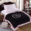 ผ้าห่ม Victoria's Secret Blankets Premium Gift ลายดำชมพู thumbnail 4