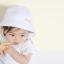 หมวกเด็กปีกกว้าง หมวกซันเดย์ ลายสับปะรด (มี 2 สี) thumbnail 9