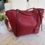กระเป๋า Amory Leather Everyday Tote Bag สีแดง กระเป๋าหนังแท้ทั้งใบ 100% thumbnail 5