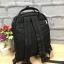 กระเป๋า Anello rucksack nylon day pack back 2017 สีดำ ราคา 1,290 บาท Free Ems thumbnail 3