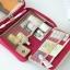 กระเป๋าใส่อุปกรณ์อาบน้ำ คุณภาพดี แขวนได้ สำหรับเดินทาง ท่องเที่ยว พกพาสะดวกมี 4 สี 4 ลายให้เลือก thumbnail 5