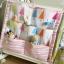 ผ้าแขวนผนัง-ติดขอบเปลเด็ก ใส่ของเล่น-ของใช้เด็ก Muslin Tree thumbnail 2