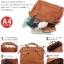 กระเป๋าเป้ ANELLO 2 WAY PU LEATHER BOSTON BAG (Regular)-----Red Wine thumbnail 10