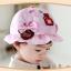 หมวกเด็กปีกกว้าง หมวกซันเดย์ ประดับปอยผม ลายกระต่ายน้อย (มี 3 สี) thumbnail 14