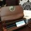 กระเป๋าเงิน ใบยาว Charles & Keith Long Wallet 2017 สีน้ำตาล ราคา 1,090 บาท Free Ems thumbnail 4